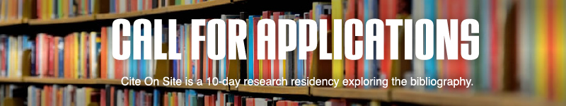 Apply for our research residency in partnership with Artexte.